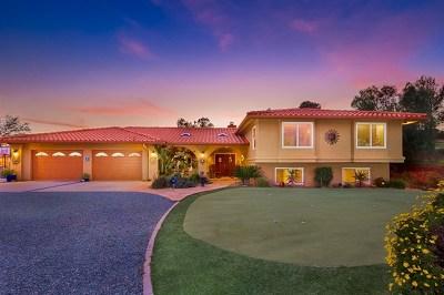 Alpine Single Family Home For Sale: 1652 Viejas Creek Trl