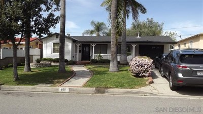 La Habra Single Family Home For Sale: 609 Warne St