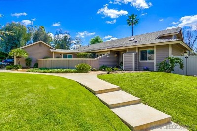 El Cajon Single Family Home For Sale: 2075 Granite Hills Drive