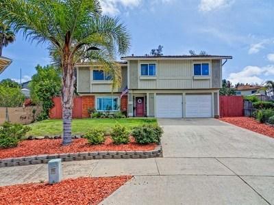 Escondido Single Family Home For Sale: 1142 Gaucho Pl