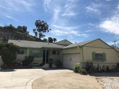 National City Single Family Home For Sale: 3424 Tolas Ct.