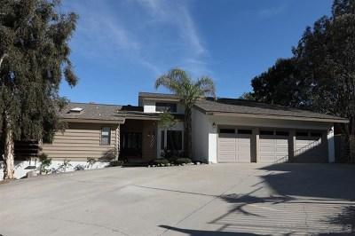 El Cajon Single Family Home For Sale: 1149 Bellvine Trl