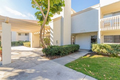 San Diego Single Family Home For Sale: 6275 Rancho Mission Rd #317
