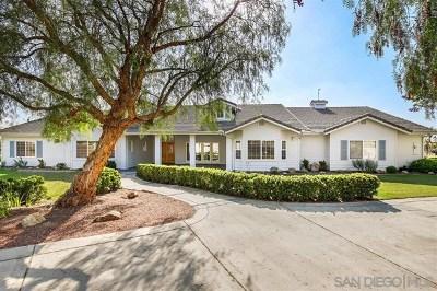Fallbrook Single Family Home For Sale: 4023 Concordia Ln