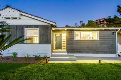 La Mesa Single Family Home For Sale: 4367 Vista Way