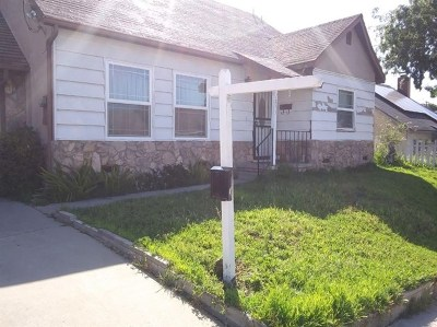 San Diego County Single Family Home Active Under Contract: 2833 Dusk Drive