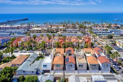 Oceanside Single Family Home For Sale: 518 N Cleveland St