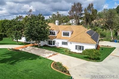 Fairbanks Ranch Single Family Home For Sale: 17423 Circa Del Sur