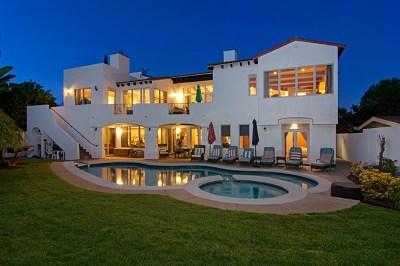 Coronado Single Family Home For Sale: 1070 Coronado