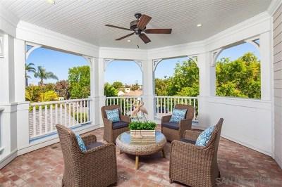 Coronado Single Family Home For Sale: 248 E Avenue