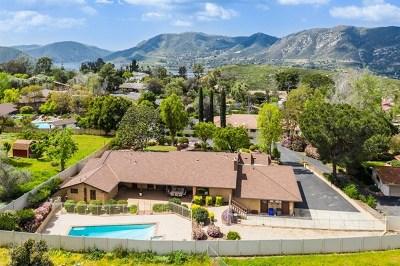 Escondido Single Family Home For Sale: 1526 Skyhawk Road