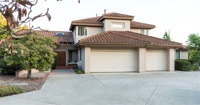 Poway Single Family Home For Sale: 13814 Lake Poway Road