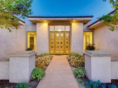 Fallbrook Single Family Home For Sale: 1321 Knoll Park Ln