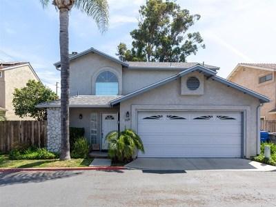 El Cajon Single Family Home For Sale: 709 Comondu Ct