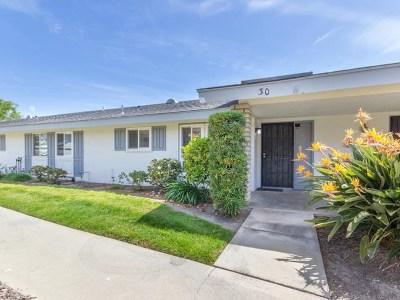 Oceanside Single Family Home For Sale: 3760 S Vista Campana #30
