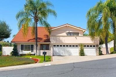 El Cajon Single Family Home For Sale: 1510 Cressy Ct