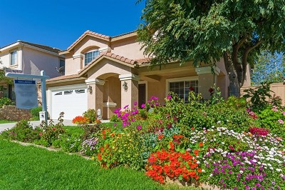 Oceanside Single Family Home For Sale: 388 La Purisma Way