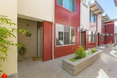 Encinitas Condo/Townhouse For Sale: 687 S Coast Highway 101 #210