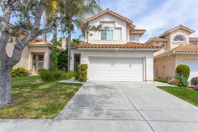 Oceanside Single Family Home For Sale: 4778 Via Escala