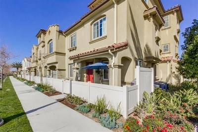 Chula Vista Single Family Home For Sale: 1635 Santa Alexia Ave #5