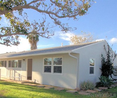 Escondido Single Family Home For Sale: 604 W 10th Ave