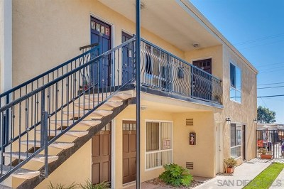 Imperial Beach Condo/Townhouse For Sale: 243 Ebony Ave #11