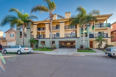 Imperial Beach Condo/Townhouse For Sale: 259 Donax Ave #G