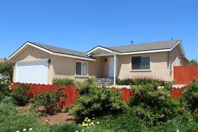 Lemon Grove Single Family Home For Sale: 8040 Lincoln Street
