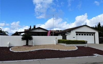 San Diego Single Family Home For Sale: 12360 Mantilla Rd