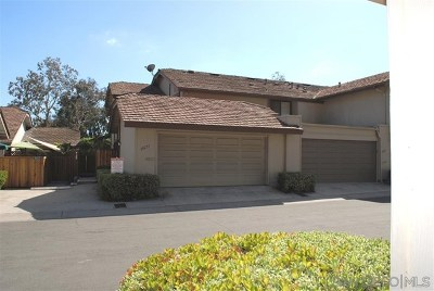 San Diego Condo/Townhouse For Sale: 10255 Mirabel Lane