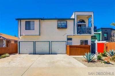 San Diego Single Family Home For Sale: 4540 Oregon St #1