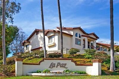 San Diego Single Family Home For Sale: 4015 Porte La Paz #127