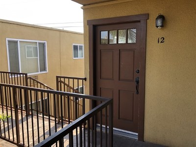 San Diego Single Family Home For Sale: 4346 52nd St #12
