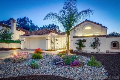 San Diego Single Family Home For Sale: 16096 Avenida Lamego