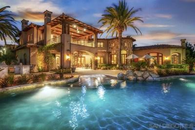 Alpine, Carmel Valley, Del Mar, Encinitas, Escondido, Rancho Santa Fe, San Diego Single Family Home For Sale: 5130 Rancho Del Mar Trl