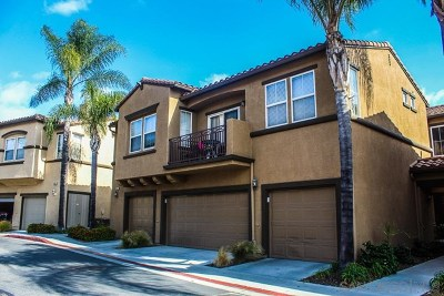San Diego Condo/Townhouse For Sale: 6363 Avenida De Las Vistas #2