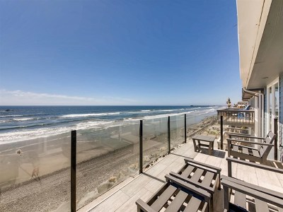 Oceanside Condo/Townhouse For Sale: 1133 S Pacific St #B