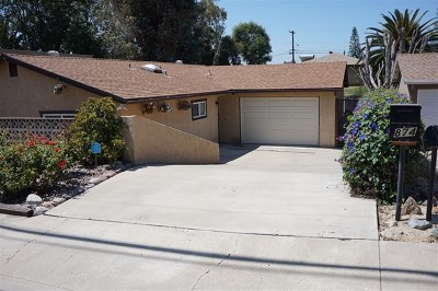 Spring Valley Single Family Home For Sale: 874 Galopago Street