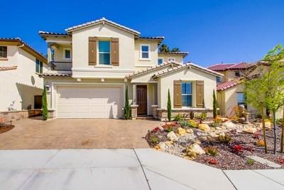 Vista Single Family Home For Sale: 449 Cota Ln