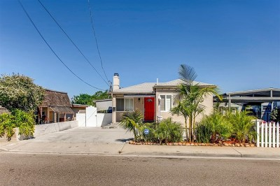 La Mesa Single Family Home For Sale: 4639 67th Street