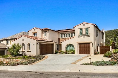 San Elijo Hills Single Family Home For Sale: 844 Cannondale Ct