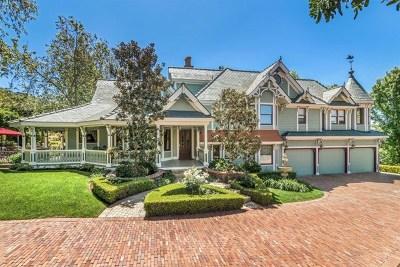 Vista Single Family Home For Sale: 1779 Elevado Rd