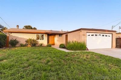 Poway Single Family Home For Sale: 13123 Neddick Ave