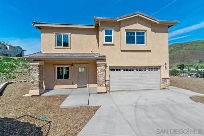 El Cajon Single Family Home For Sale: 1218 Topper Ln