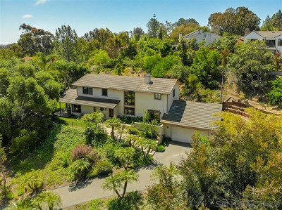 Encinitas Single Family Home For Sale: 808 Morning Sun Dr