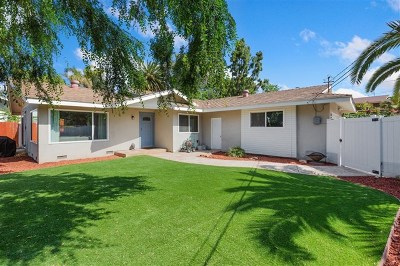 Vista Single Family Home For Sale: 612 Sunset Drive