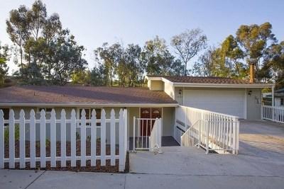 El Cajon Single Family Home For Sale: 1324 Helix View Dr