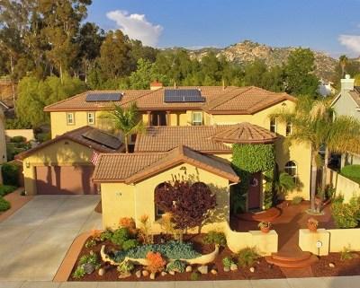 Escondido Single Family Home For Sale: 2436 Douglaston Glen