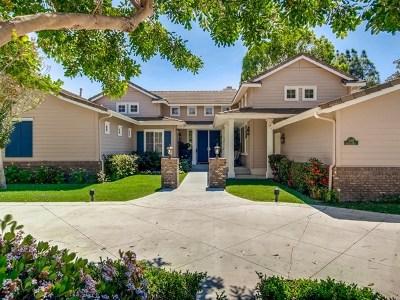 Fallbrook Single Family Home For Sale: 2095 Kristi Ct