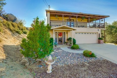 Alpine Single Family Home For Sale: 22234 Lyons Valley Road